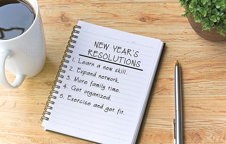 Phentermine New Years Resolution Checklist